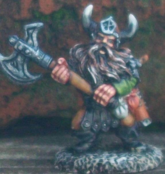 Dwarf Hero: Reaper Miniatures